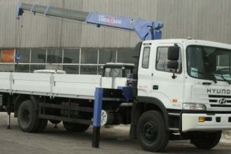 Кран-манипулятор Tadano TM-ZR504 (HS) на шасси Hyundai HD-170 Long